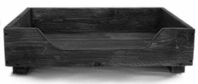 Hundebett aus Holz Dekorie